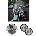 7 Inch Motorcycle Projector Daymaker Hi/Lo LED Light Bulb Headlight DRL lamp For Harley LED Auxiliary Passing for Harley Davidso