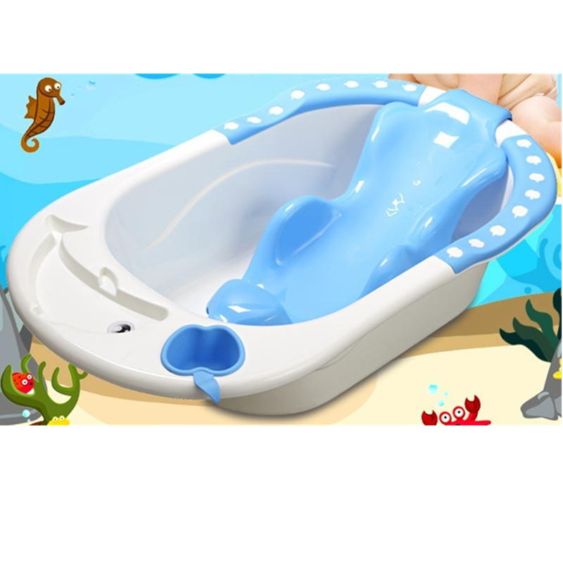 Large Baby Bathtubtub Apple Dolphin Water Scoop Baby bath Tub with ...