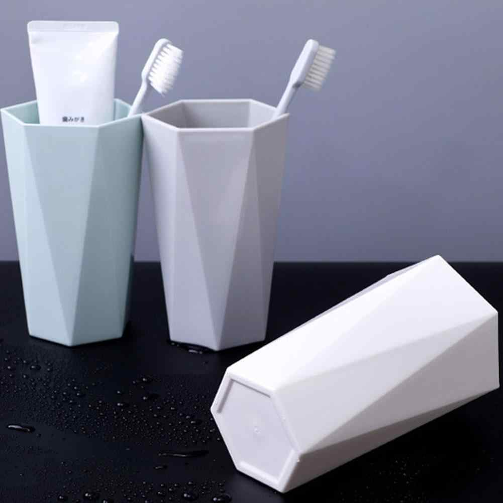 PP Material Nordic Plastic Cup Toothbrush Holders Washing Drinking Home Bathroom Lightweight Tooth Mug 400/300ml