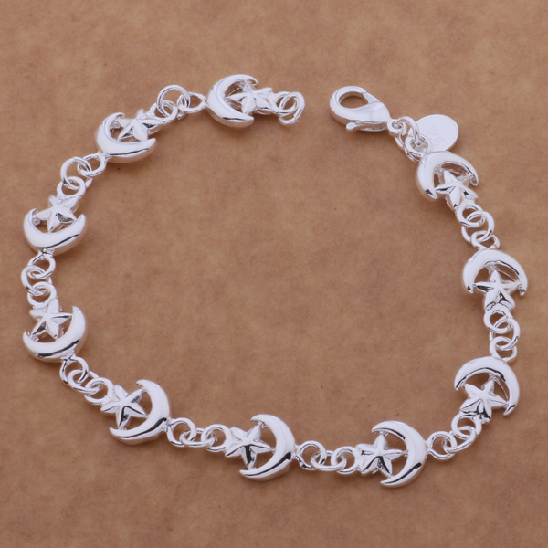 SL-AH156 Wholesale silver plating bracelet, 925 stamped silver fashion jewelry All the stars /bhoajyva agnaixua
