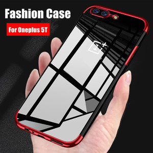 For OnePlus 5T Case Luxury Sof