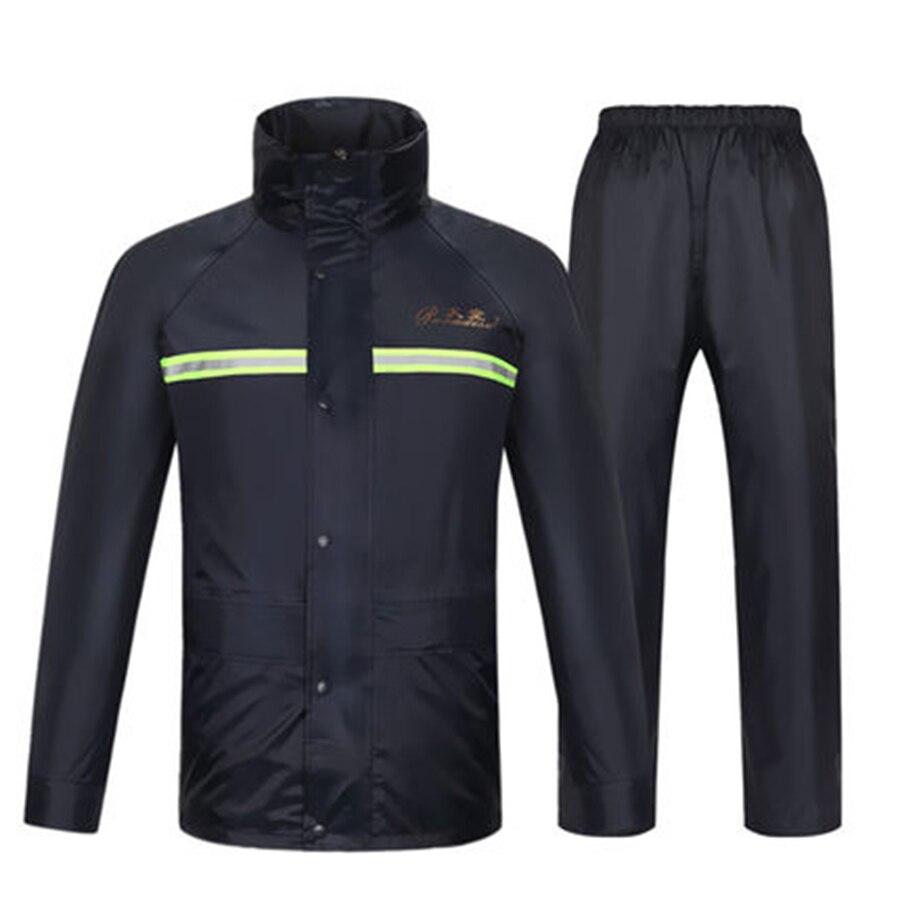 Hiking Motorcycle Poncho Raincoat Waterproof Cover Rain Coat Men Suit Gear Cape Hat Impermeables Chuva Outdoor Rainwear 50KO159