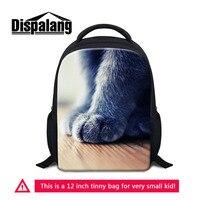 Dispalang Animal Children's Bags Kids Backpacks 3D Cat Paw Mini School Bag Baby's Gifts Kindergarten Boy Girl Student Book Bag