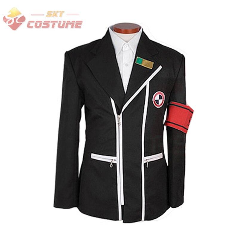 Anime Shin Megami Tensei Persona 3 Gekkoukan L'école Veste Manteau Chemise Halloween Cosplay Costume Ensemble Complet