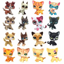 pet shop toys Standing short hair cat Yellow 3573 Black 336 2249 Dog Collie 1542 Great Dane 577 750 dachshund 640 spaniel
