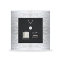 New Wall Embedded Wireless WIFI AP Router Phone USB Socket Outlet Wall Charger WiFi Smart Socket