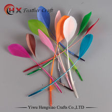 Goose-Wing Decorative-Accessories Jewelry DIY White-Color Long 20pcs 13-18cm Beautiful