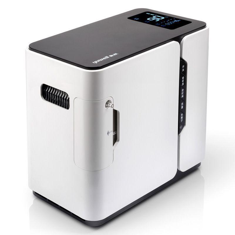 Portatile Concentratore di Ossigeno Medicale Generatori Per La Casa di Ossigeno Portatile Macchina A Casa Purificatore D'aria 93% di Elevata Purezza