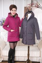 COAT Winter Women Loose Plus Size Coat Padded jacket  Warm Parkas padded Thickening Outerwear XL to 6XL