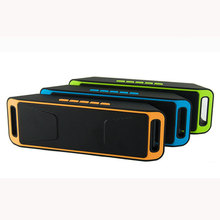 Высокого качества Bluetooth 4.0 Портативный Беспроводной Динамик TF USB fm-радио двойной bluetooth Динамик басов сабвуфера Динамик s