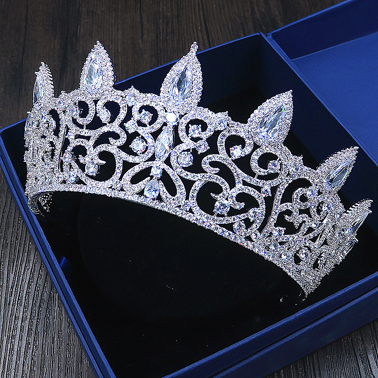 Здесь продается  Micro Paved Cubic Zircon Tiara Zirconia Crown Bridal Headpiece Wedding Hair Accessories CZ Coroa Novia Bijoux Cheveux WIGO1120  Ювелирные изделия и часы