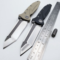 Delta Force Tactical Folding Knife D2 Blade G10 Handle Outdoor Survival Camping Pocket Knives Military Combat Knifes EDC Tools