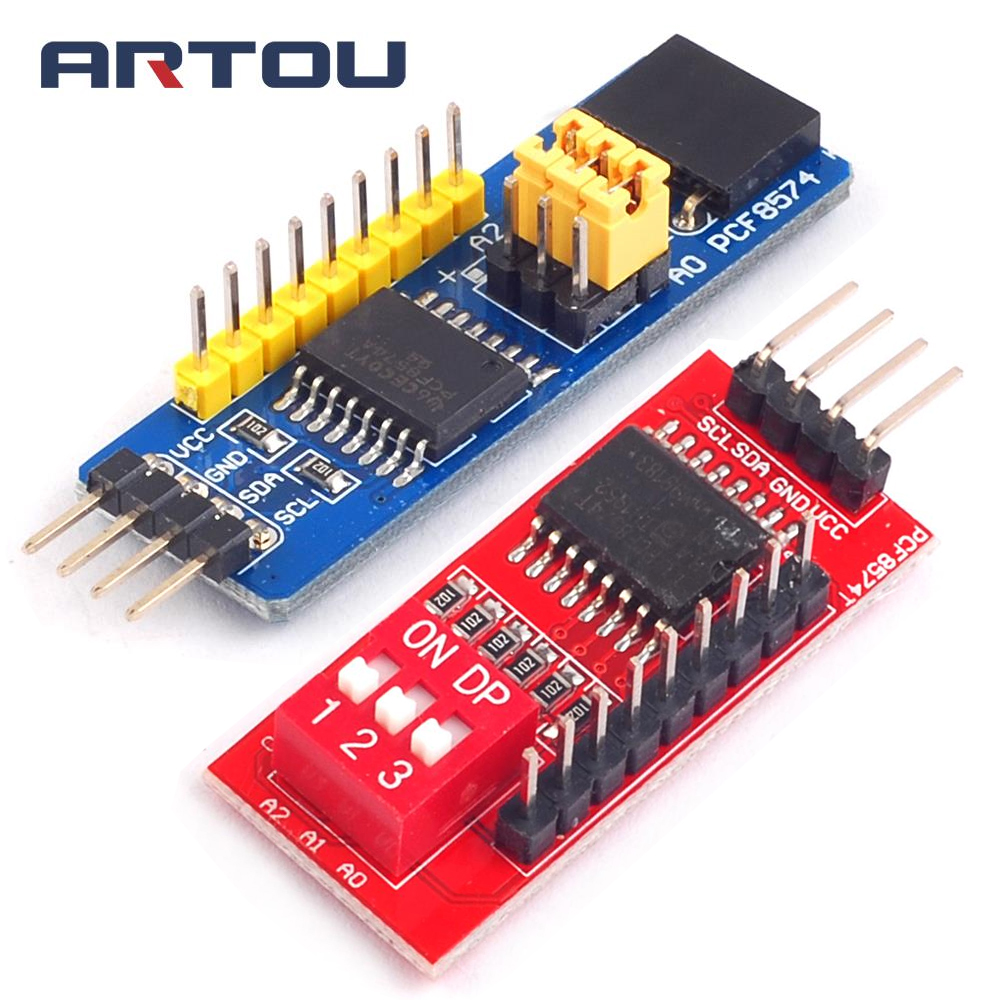 PCF8574 PCF8574T I/O for I2C Port Interface Support Cascading Extended ModulePCF8574 PCF8574T I/O for I2C Port Interface Support Cascading Extended Module