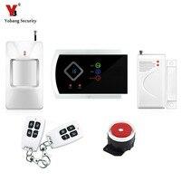 Yobang Segurança-Multi-Linguagem APP Sem Fio GSM de Segurança Em Casa Sistemas de Alarme Janela/Porta Sensor PIR Detecção De Movimento Alarma