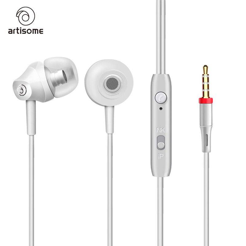 портативный стерео мини-бас наушники для для iPhone 5 6 samsung С8 гарнитуры мобильного телефона микрофон проводной спорта на открытом воздухе наушники микрофон
