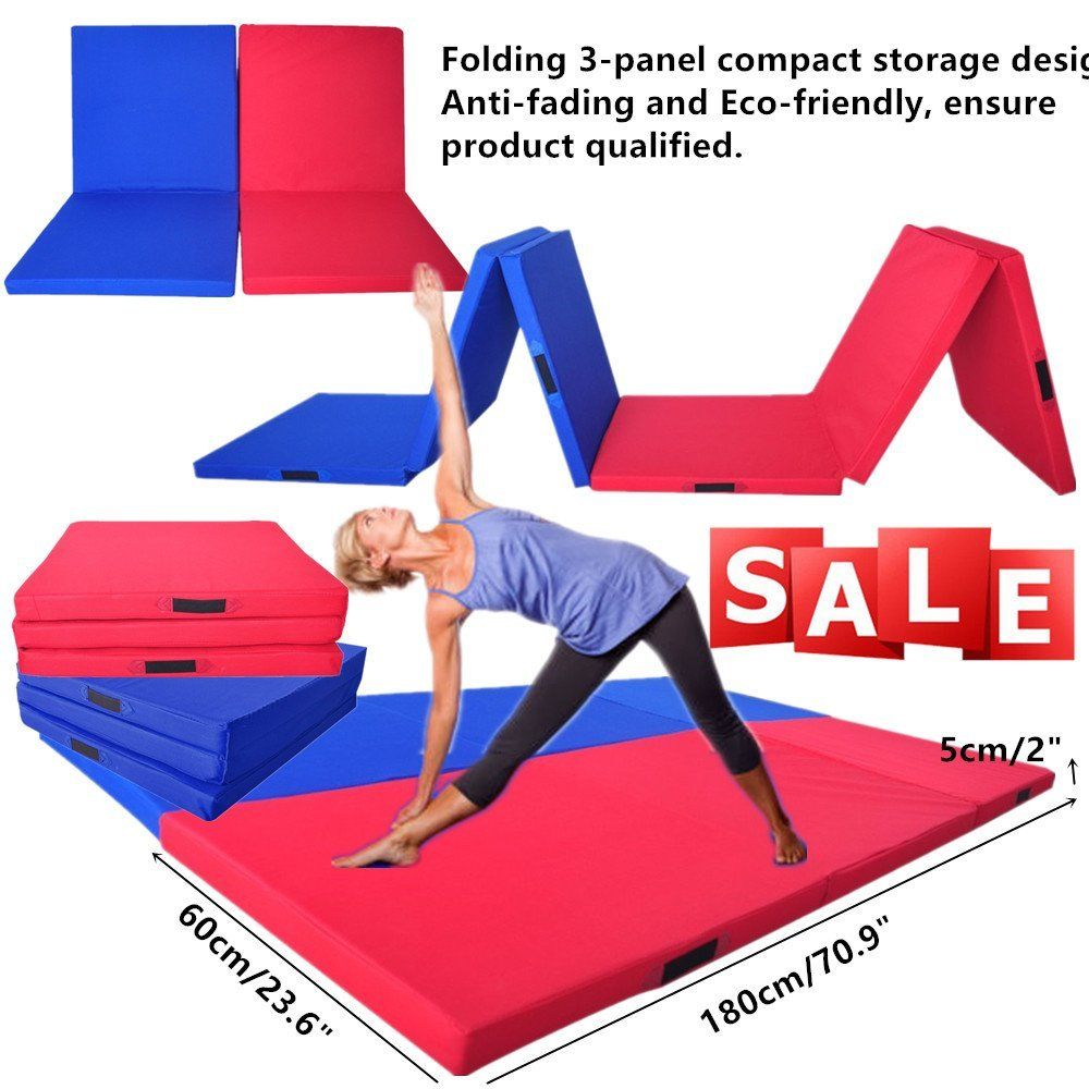 180*60*5cm Folding Yoga Mat Pearl Wool Soft Dance Pads Three Fold Gymnastics Mat Pilates Sports Training Exercise Sit-up Mat hit the hamster dance mat 4 x aaa