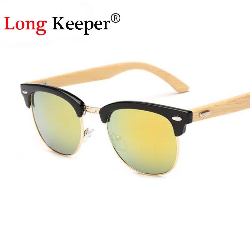 54c379a1a3a90 Long keeper homens clássicos óculos de sol de madeira de bambu retro dos  óculos de sol viseira olho mulheres óculos cat eye marca designer de óculos  de sol ...