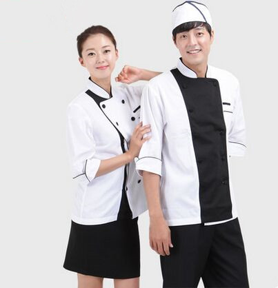 Chinese Restaurant Uniform For Waiter Chinese Chef Unifoms Chef Clothing Cook Uniforms Cook Clothing