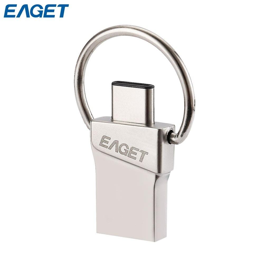 EAGET Type C Flash font b Disk b font USB 3 0 16GB 32GB 64GB Mini