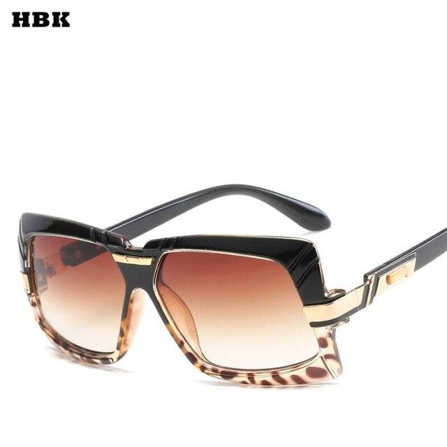 6851f1847a HBK nuevas cuadrados mujeres Gafas de sol oversized Gafas vintage Big  Marcos Sol Gafas Shades gradient
