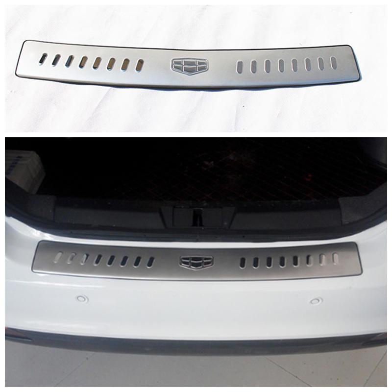 Geely new Emgrand 7,EC7,EC715,EC718,Emgrand7,E7 ,EC7-EV,EV,Car trunk cover plate,stainless steel protective board автомобильные чехлы на geely emgrand