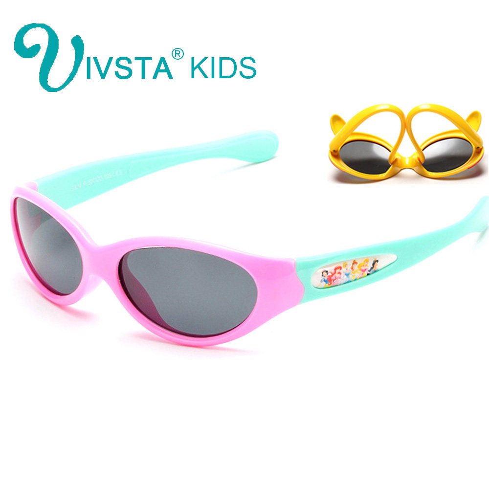 55e5e3c5542 ... Cat eye Flip Sunglasses Kids Girls Sun Glasses Polarized Cute Flap Polarized  Lenses Pink Color birthday gift 859. US  7.90. IVSTA 834 Flexible Silicone  ...