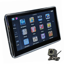 Capacitive-Screen Navigation Rearview-Camera AV-IN Car Gps Sat Nav Bluetooth 7inch Free-Maps