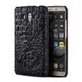 Echt krokodillenleer telefoon case voor Huawei Mate 10 telefoon back cover beschermende lederen phone case voor Huawei p9 lite case
