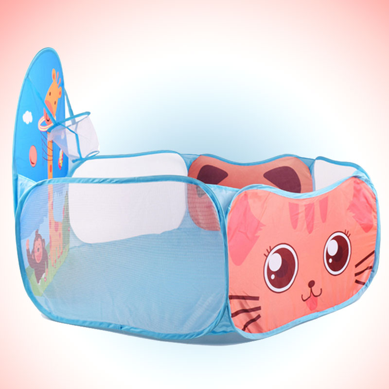 Free Shipping Ocean Ball Folding Pool For Kids Baby Children Indoor Cloth Playing Portable Toy