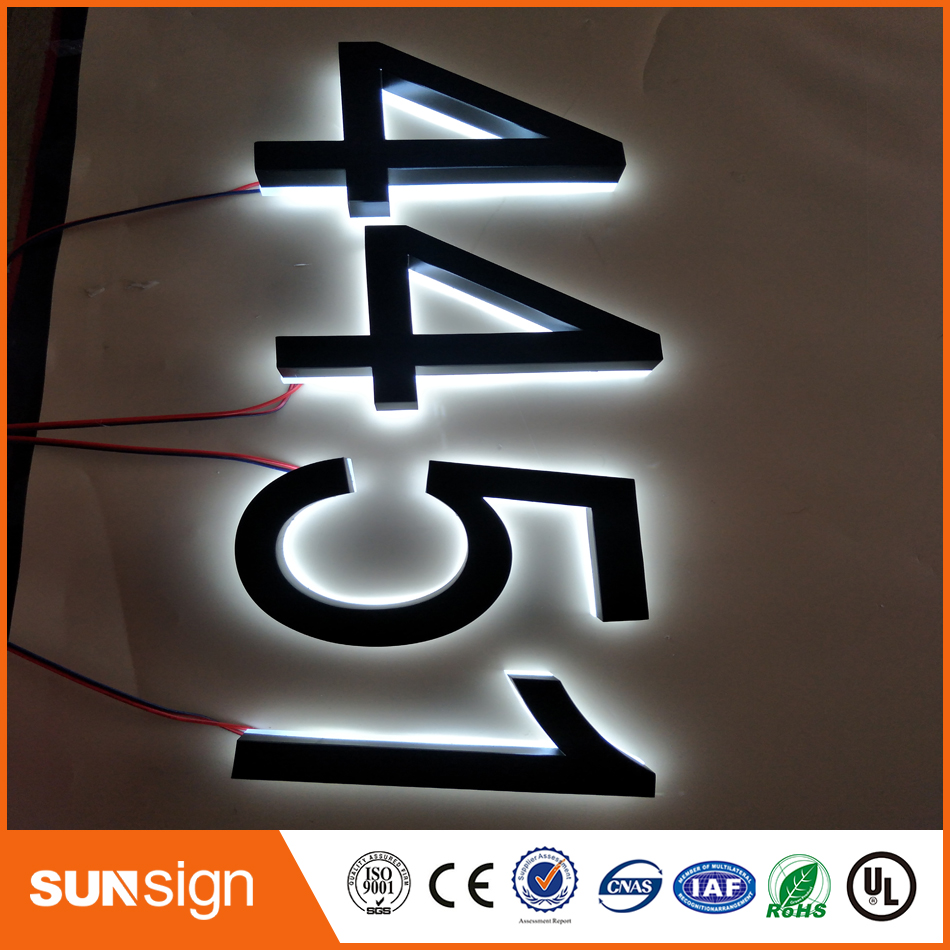 Factory Price Frontlit And Backlit Custom Acrylic Led Letters