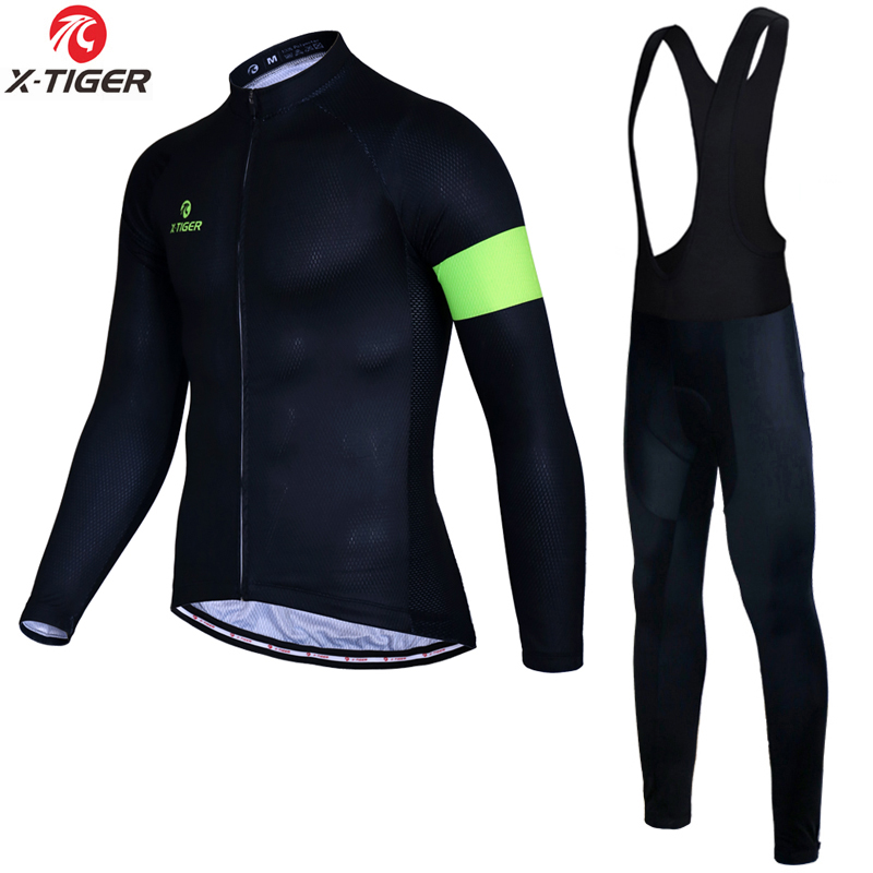 X Tiger Pro Winter Thermal Fleece Cycling Jerseys Set Bike Clothing Maillot Ropa Ciclismo Invierno Mountain