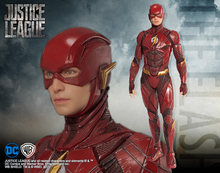 DC SuperHero Justice League The Flash ARTFX + ESTÁTUA Action Figure Toy Collectible Modelo 17cm(China)