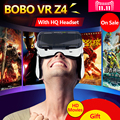 Original Xiaozhai BOBOVR Z4/BOBO VR Z4 with headphone Virtual Reality 3D VR Glasses cardboard for 3.5-6.0 inch smartphone