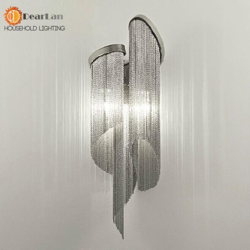 ФОТО Modern Design Luxury Fashional Aluminum Wall LIghts With E14 Holders,Modern Bedside Wall Lights For Bed Room(WL-50)