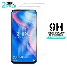 "2 Pcs מזג זכוכית עבור Huawei P חכם Z מסך מגן 2.5D 9 שעתי מזג זכוכית עבור Huawei P חכם Z מגן סרט 6.59 ""*"
