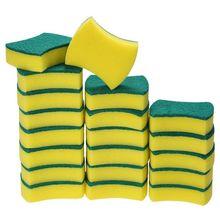 20 упаковок многофункциональная сверхмощная губка-скраб Экстра тонкие Волшебные чистящие губки ластик Губка для кухни Ванная комната мебель Leath