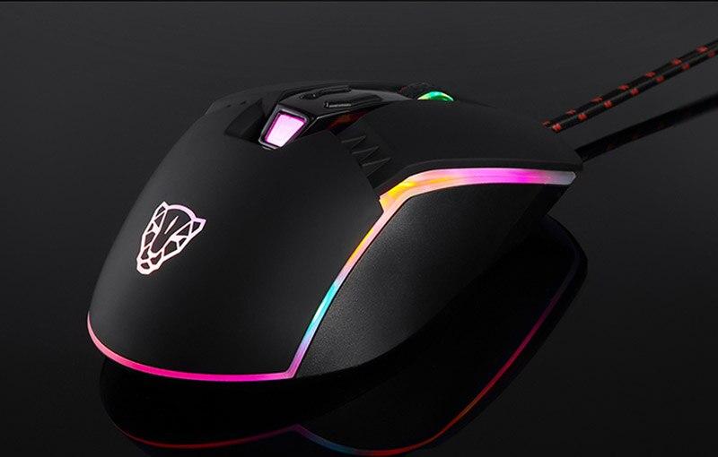 gaming mouse profissional ajustável usb computador wried