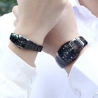 DALISHI Top Brand Men Women Couple Watches Qaurtz Lovers Watch Fashion Rectangle Simple Dial Male Business Dress Wrist Watch