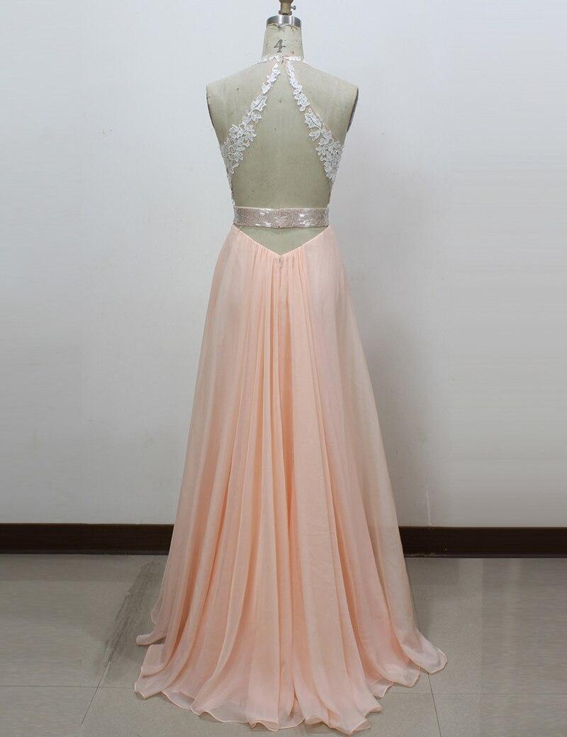 Top SaleσProm-Dresses Evening-Dress Backless Longue Robes-De-Soiree Abendkleider Photo Sexy Plus-Size