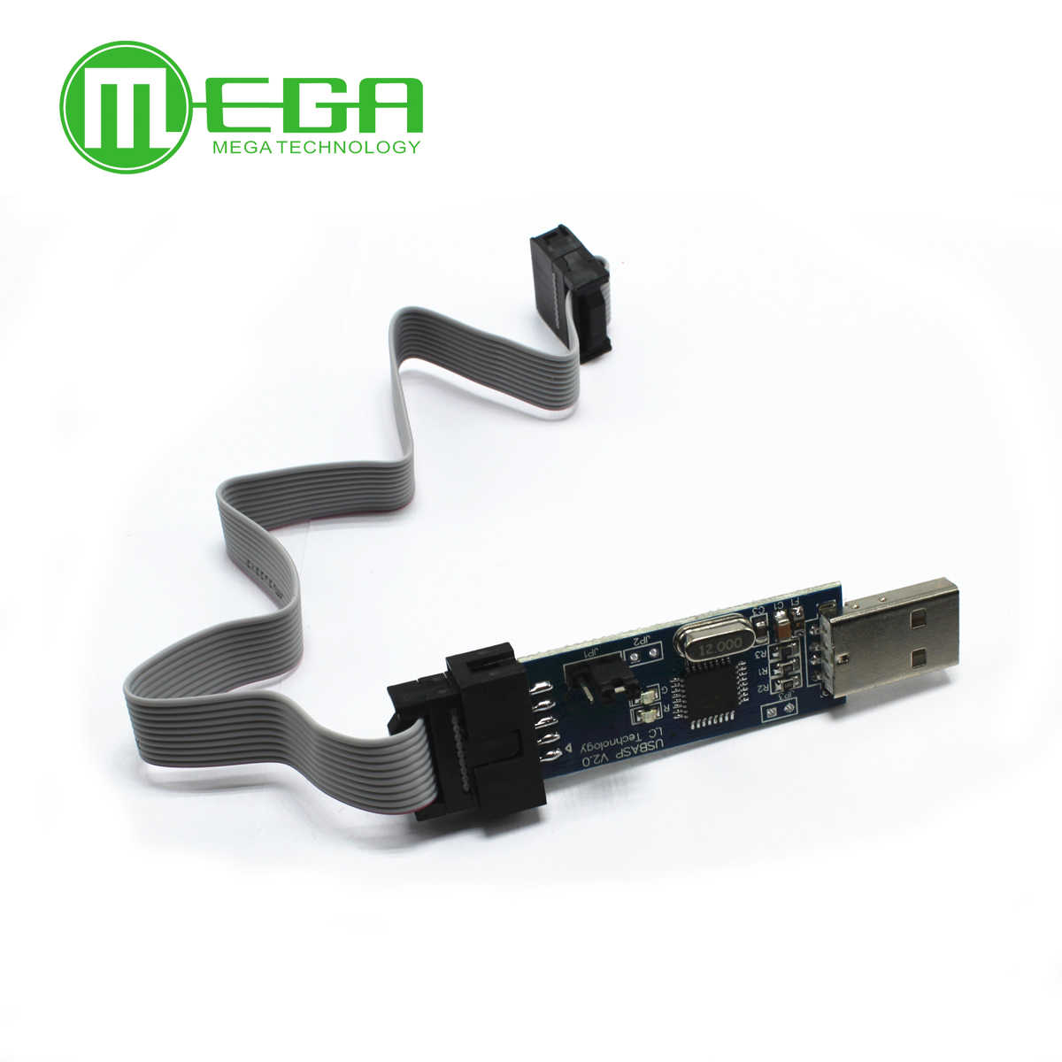 1 шт. Новый USBASP USBISP AVR программист USB ISP USB ASP ATMEGA8 ATMEGA128 Поддержка Win7 64K