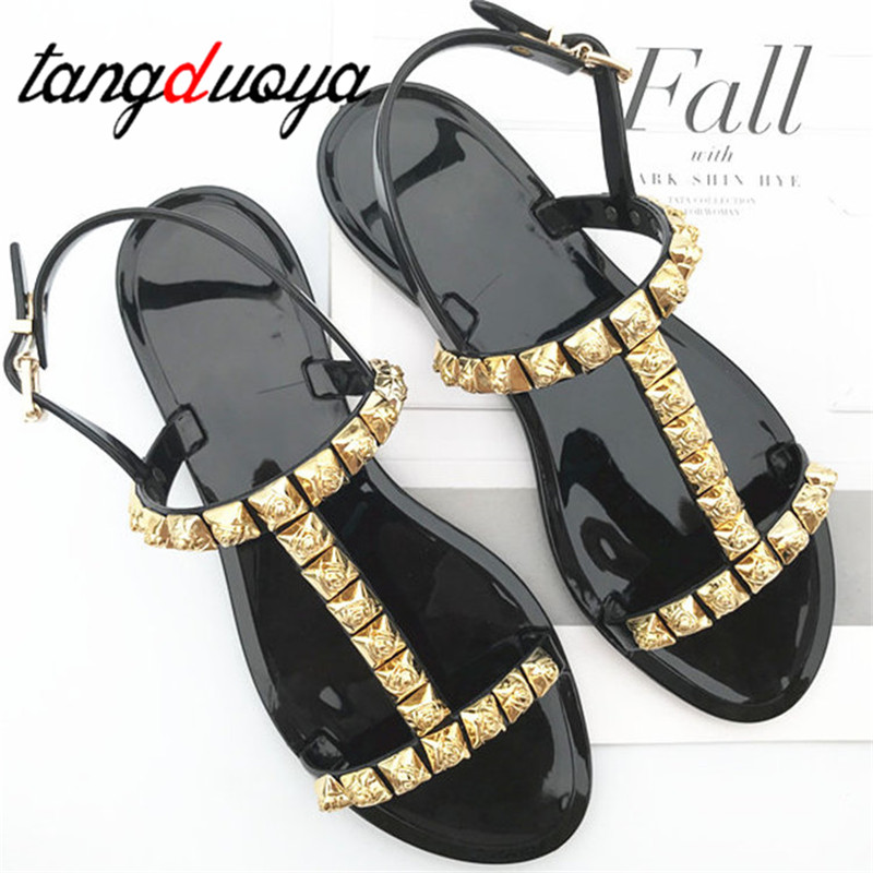 Sandals Summer Slippers Candy Woman Shoes Flats Ladies Flip Flops Women Zapatos Mujer Beach Sliders sandals for ladies sandalias