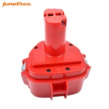 Powtree For Makita 12V 2000mAh 1220 Power Tool NI-MH Battery Replacement PA12 1233 1201 1222 1223 1235 1233S 1233SB 192598-2