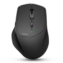 ФОТО new rapoo mt550 multi-mode wireless mouse switch between bluetooth 3.0/4.0 and 2.4g for four devices connection