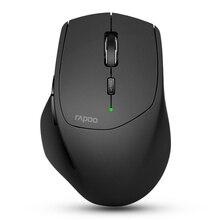 Новый Rapoo Multi-mode Беспроводной Мышь переключаться между Bluetooth 3,0/4,0 и 2,4 г для четырех устройств связи компьютер Мышь