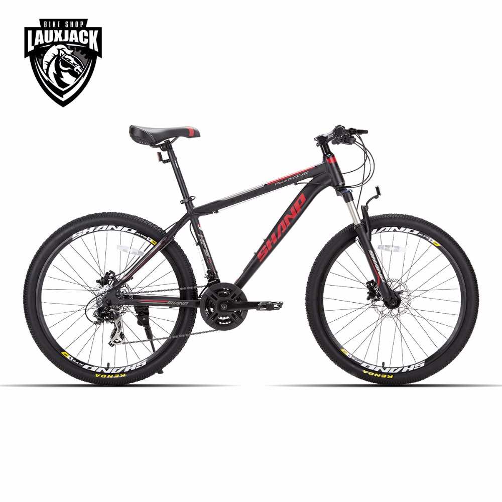 Lauxjack mountain bike Aluminum frame 21/24 speed