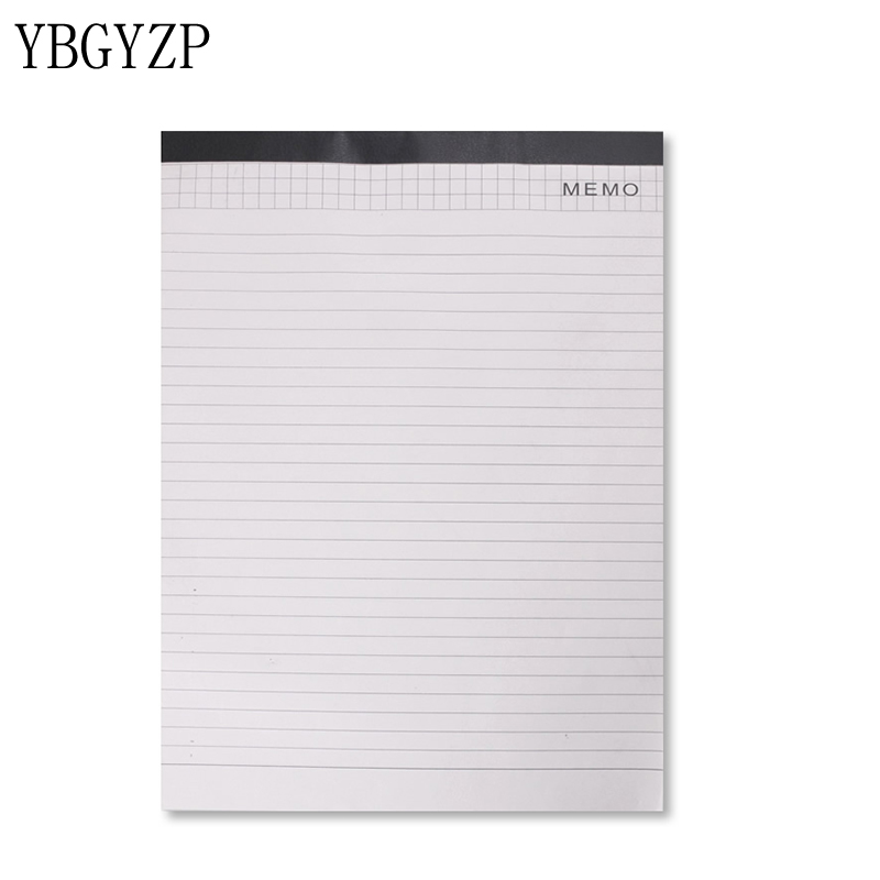 YBGYZP A4 Notepad Paper, Document Folder Filler Papers. Writting Pad Lined / Check a4 lined a4 check paper notepad refills office document folder notepad paper drawing check format