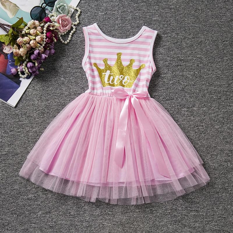 1 лет день рождения dress 2 лет день рождения кружева dress розовый фиолетовый девочка одежда платья для девочек vestido де verao