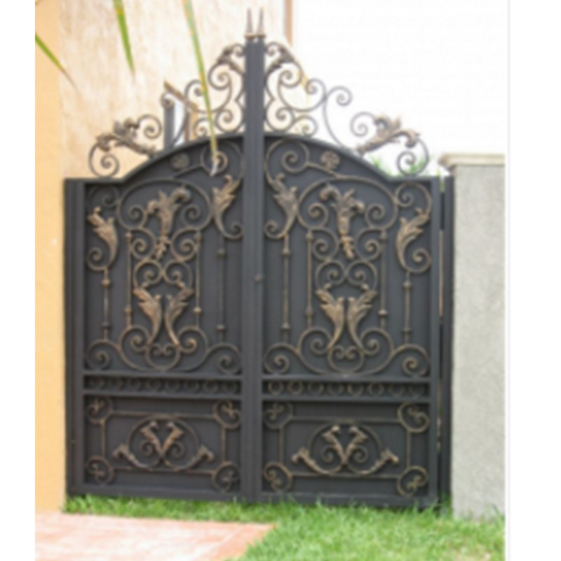Besi Tempa Gerbang Pintu Digunakan Besi Tempa Gerbang Pintu