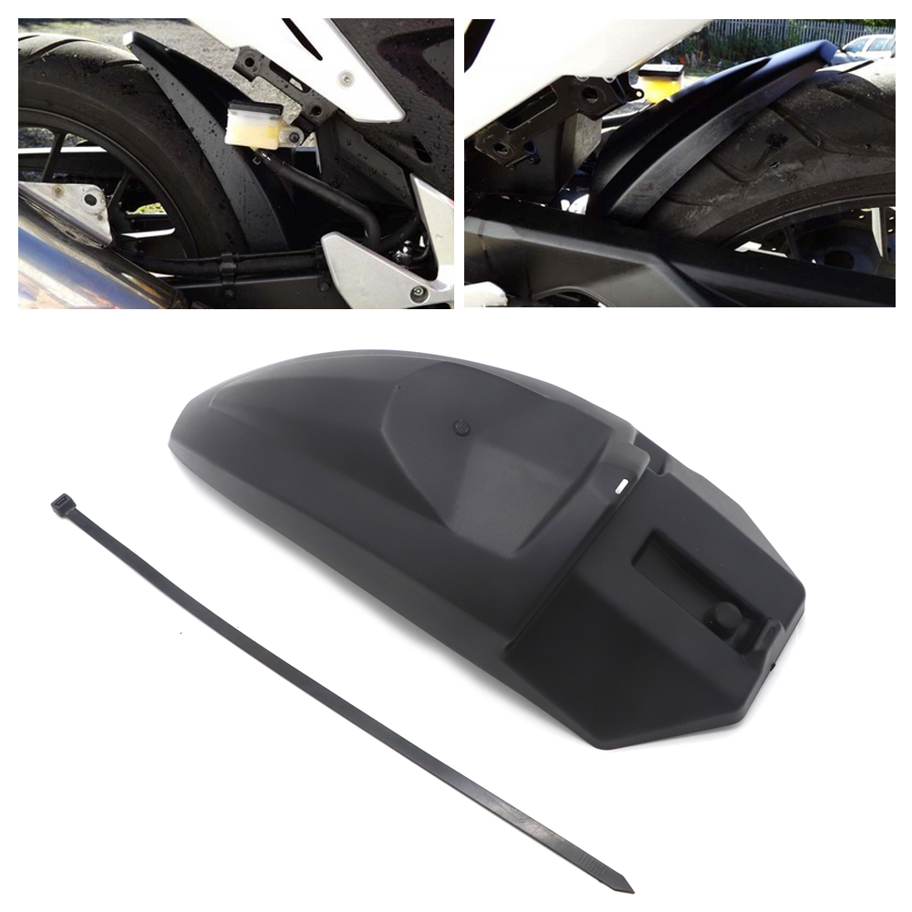 Motorcycle Rear Mudguard ABS Fairing FENDER Rear Extender Extension For HONDA CB500X CB500F CBR500R CB500R