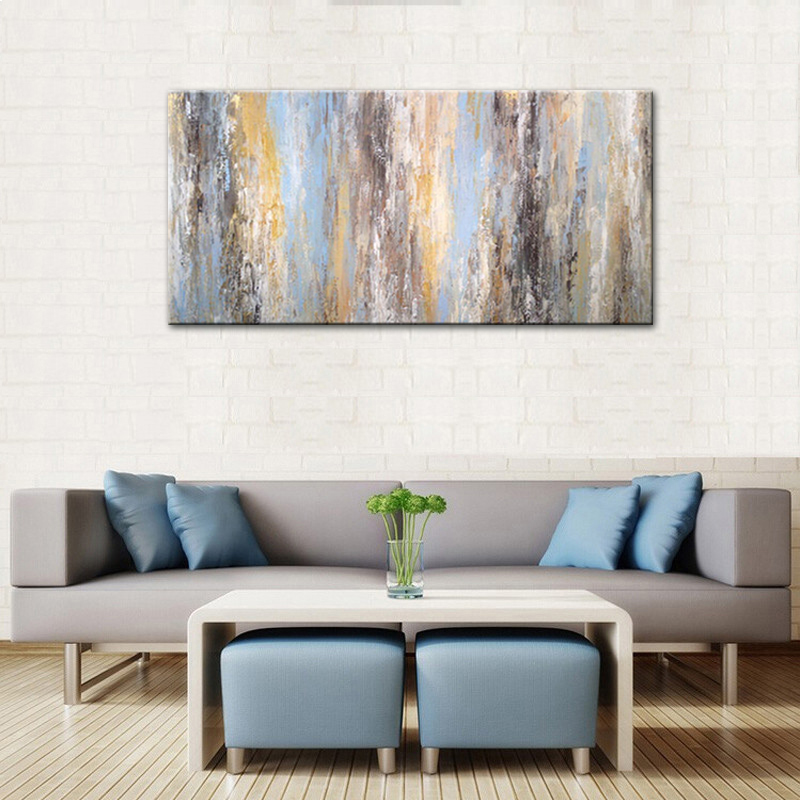 √Free Shipping Handmade Modular Pictures Abstract Colorful Oil ...